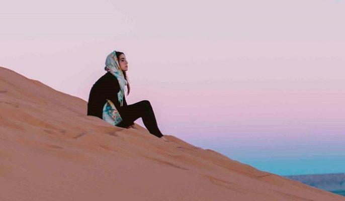 Viajar sola al desierto
