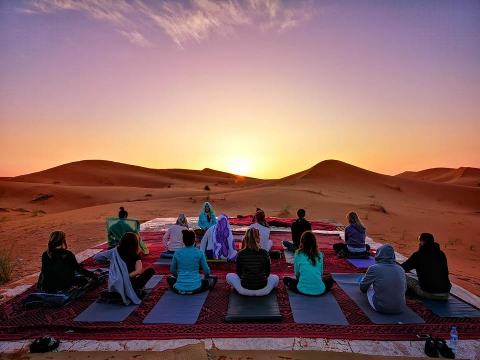 Encuéntrate a ti misma en el desierto de Marruecos